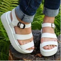 Лаковые сандали женские
