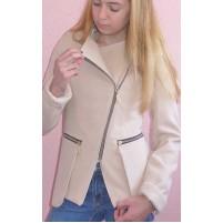 Подростковое пальто на молнии