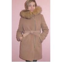 Зимнее детское пальто для девочки
